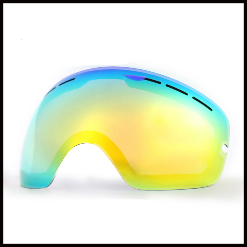 Ski Goggles Double Layer Lens Snow Goggles Anti Fog Snowboard Skiing Eyewear Lens Changeable Night Vision Lenses For Benice 3100