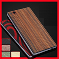 Simple For ZTE Nubia Z9 MAX back stick / wood real wood film after film for ZTE z9 MAX case