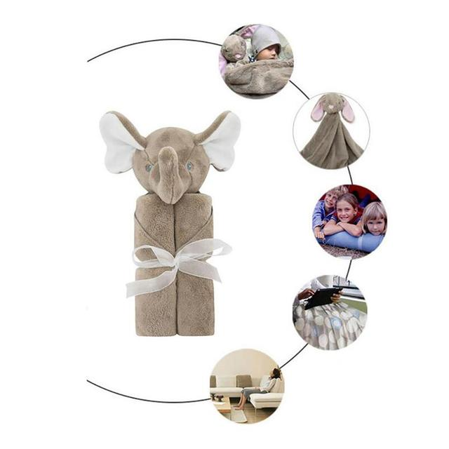 3D Animal Model Carpet Infant Child Blanket baby warm Lovely Modelling of Bath Towel Carpet Child Blanket D35