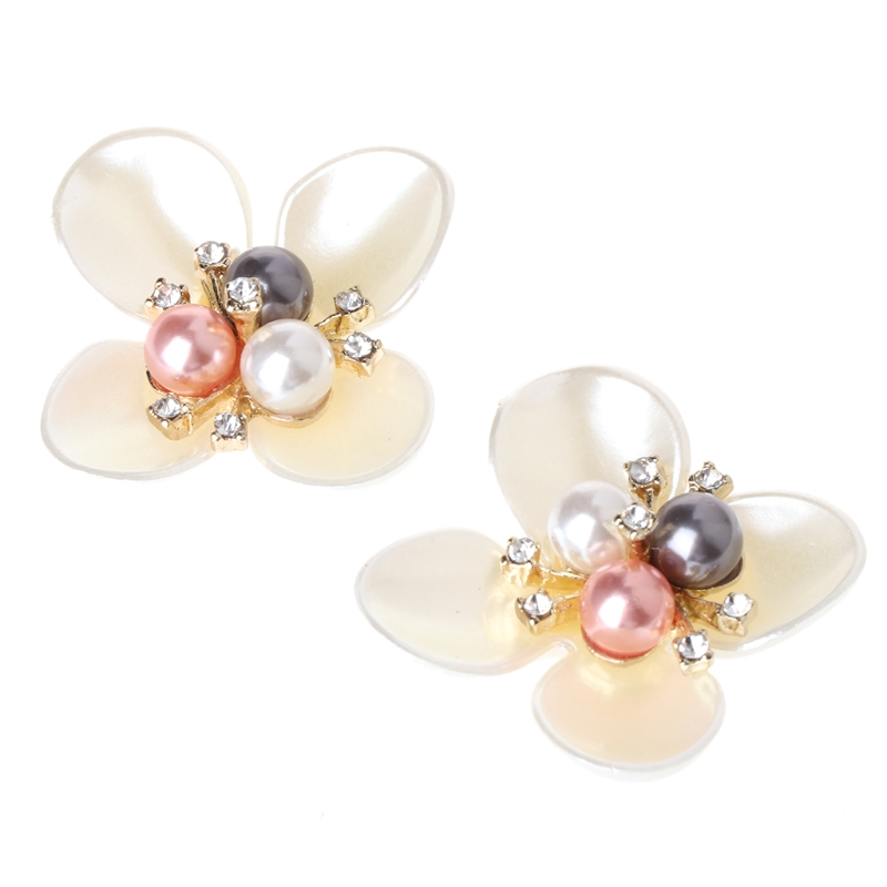 EYKOSI 2Pcs DIY Embroidered Sequins Beads Flower Decorative Accessory Cloth Patch Shoe ClipsEYKOSI 2Pcs DIY Embroidered Sequins Beads Flower Decorative Accessory Cloth Patch Shoe Clips