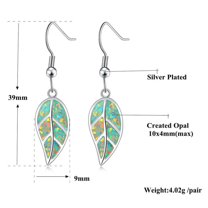 CiNily Ελιά Πράσινη Φωτιά Opal Long - Κοσμήματα μόδας - Φωτογραφία 5
