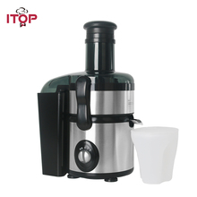 ITOP Stainless steel Juicers 2 Speeds electric Juice Extractor With Pulse Function 1000ml Fruit Drinking Juicers Machine