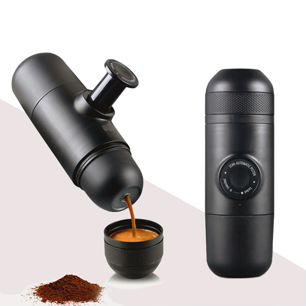Mini espresso coffee maker(ground coffee)Mini sport coffee machine/the-hand-powered,portable espresso machine with highqliaty mini sport coffee machine the hand powered portable espresso machine with high quality powder vesion