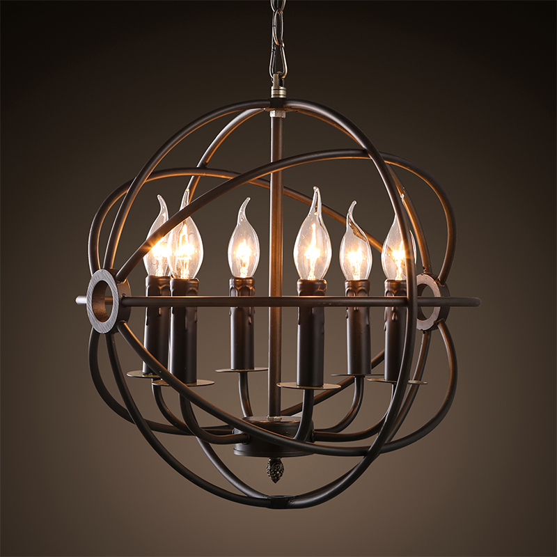 Vintage Chandelier Lighting Black Candle Chandeliers Industrial Pendant Hanging Light for Home Hotel Living Dining Room led industrial vintage lighting iron light 110 220v home lighting living room hanging e27 fixture porch chandeliers luminaria