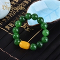High-grade Natural Jade Bracelets Beeswax Lap Beads Bracelets Gifts Jewelry Diybeads