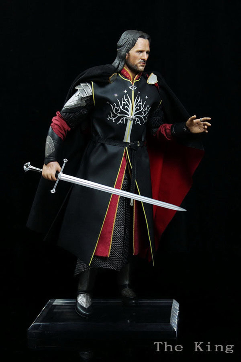 AF007 1/6 The Lord of the Rings Aragorn II Collectible Figure Models Gifts Toys 1 6 scale full set soldier the lord of the rings elven prince legolas action figure toys model for collections