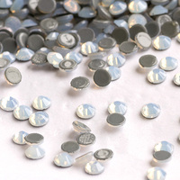White Opal Hot Fix Rhinestones SS20 Crystal Flat Back Rhinestone On Clothing Stones Wedding Dress Rhinestone