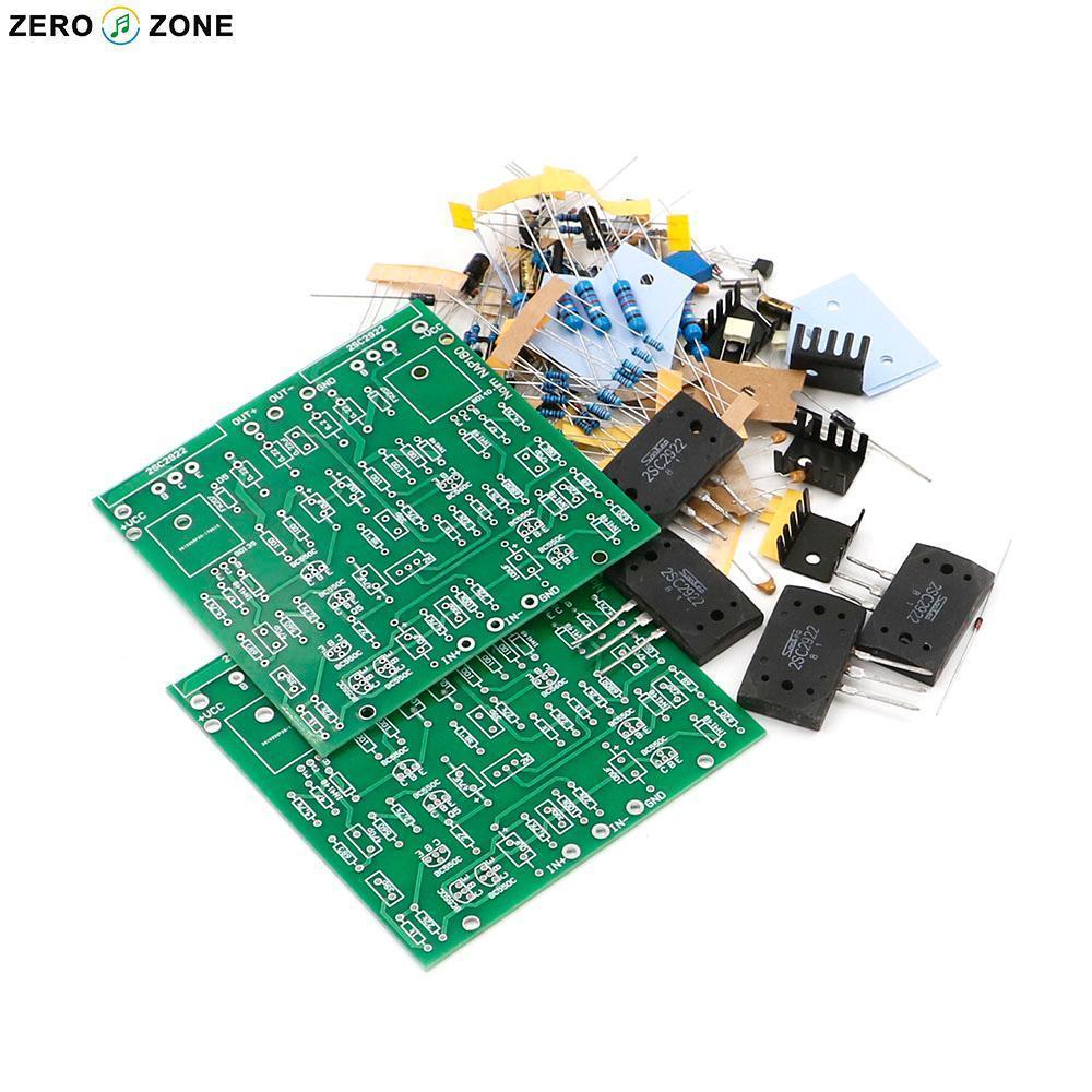 GZLOZONE HIFI bricolage Clone NAIM NAP180 Kit amplificateur de puissance 75 W + 75 W (Kit ampli 2 canaux)