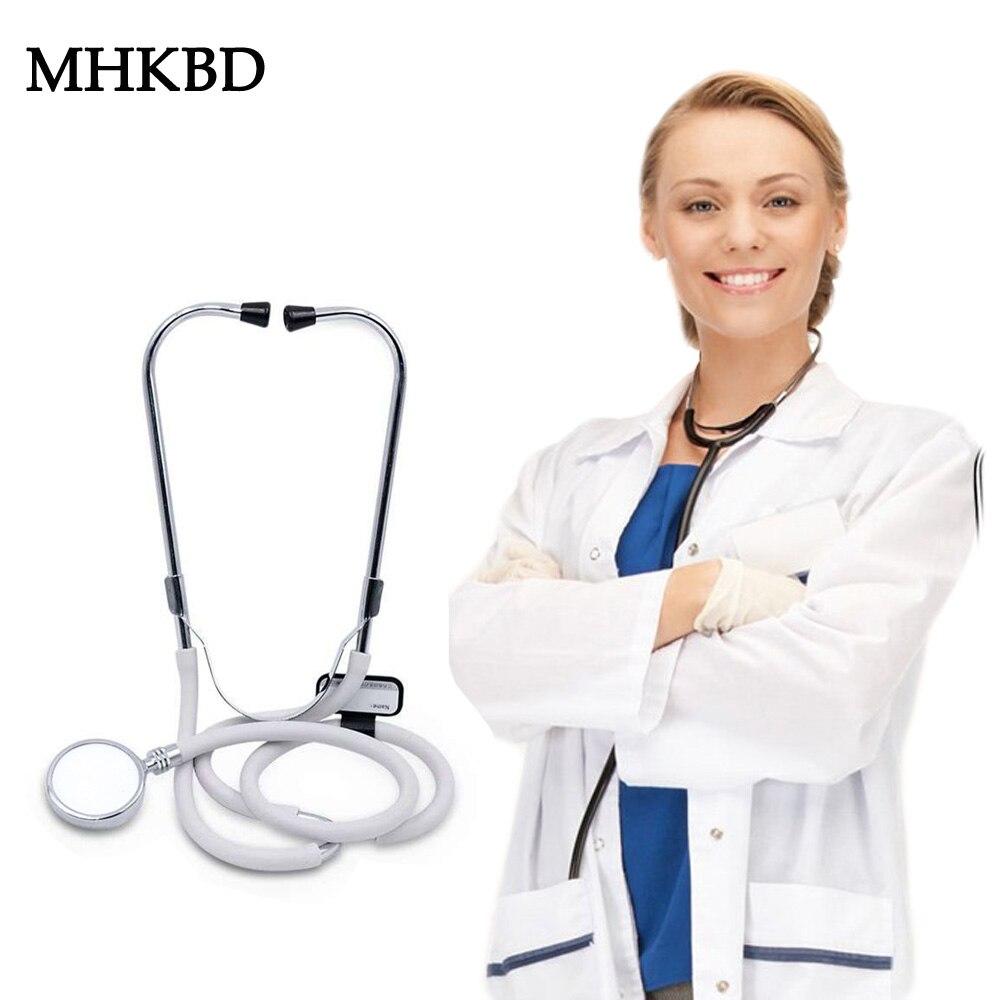 MHKBD Medical Stethoscope Cardiology Head Estetoscopio Detector Fetal Heart Rate Veterinary Professional Equipment Doctor