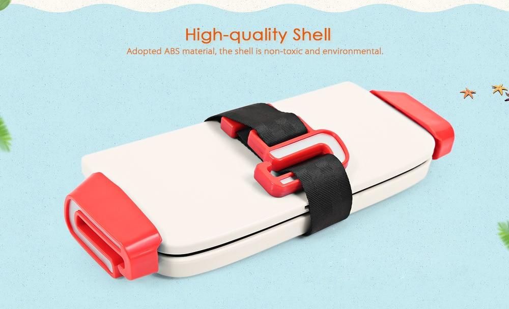 Portable Foldable Children Kids Safety Booster Car Seat Adjus ( (5)