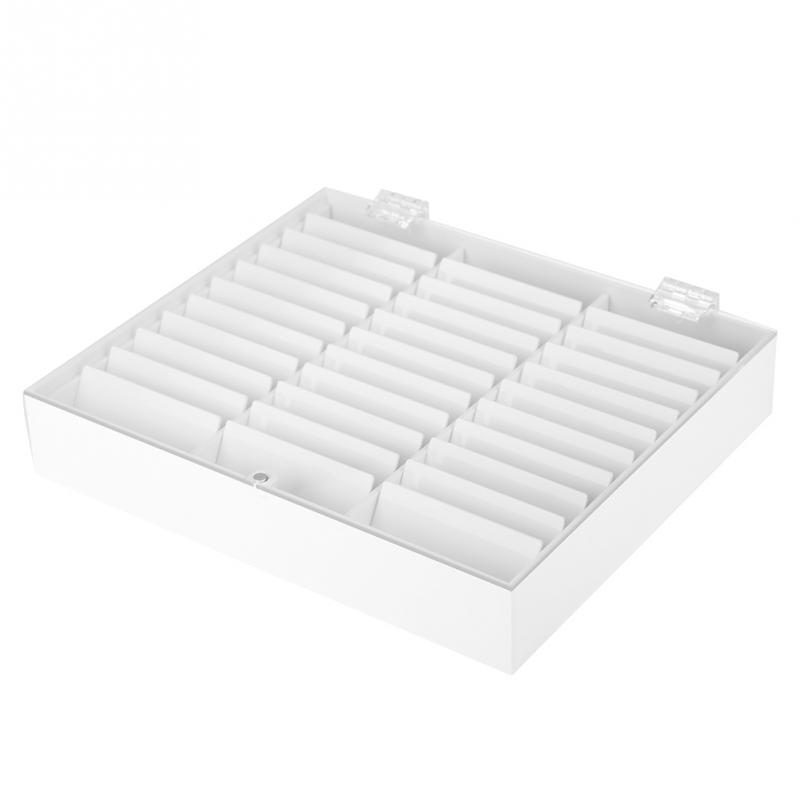 Image 3 - 33 grades vazio prego arte caixa de armazenamento caso titular  caixa do prego para dicas jóias brincos grânulo recipiente unhas  manicure comprimidos organizadorCestos e caixas de armazenamento   -