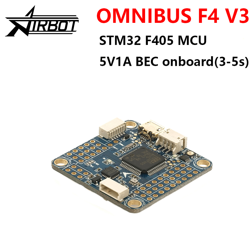 Omnibus F4 V3 control drones with rc plane Airbot Authentic remote controlador h