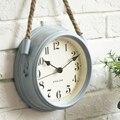 Скандинавские современные минималистские часы настенные часы для гостиной кованые металлические часы кварцевые часы в творческом стиле