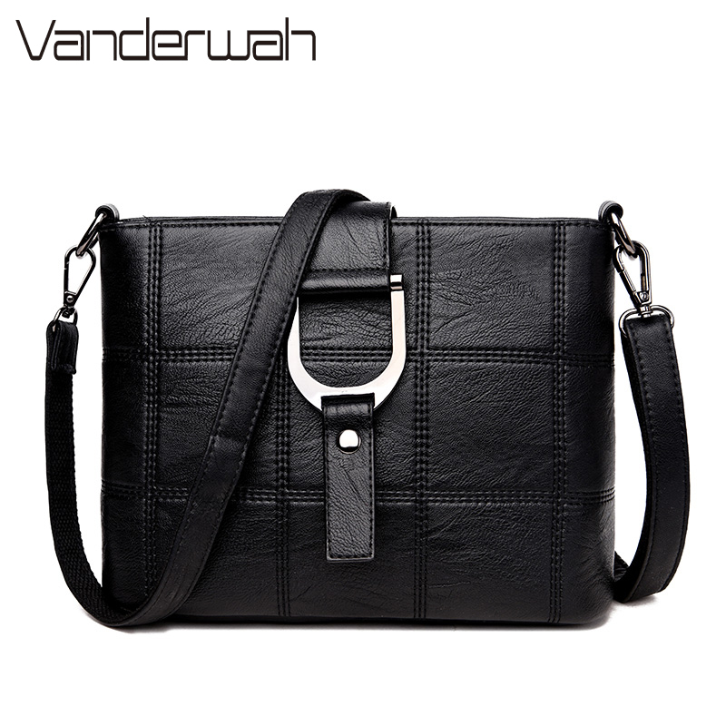 VANDERWAH Ladies Dual use Handbags Portable Office Shoulder Bag Designer Handbags high q ...