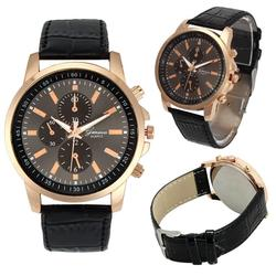2016 women men wrist watches casual geneva faux leather quartz analog reloj hombre kol saati good.jpg 250x250