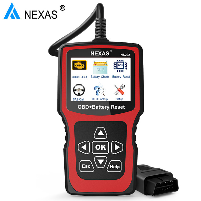 US $97 4  NEXAS NS202 OBD2 Auto Car Diagnostic Tool Code Reader Engine  Scanner BMS SAS Battery Reset Diagnostic Tool for BMW Audi VW SEAT-in  Engine