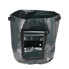 8Pcs Diy Potato Grow Planter Pe Cloth Planting Container Bag Vegetable Gardening Thicken Garden Pot for Home