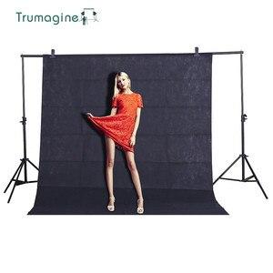 Image 1 - 1.6X3 m/5.2X9.8Ft Đen Màn Hình Chụp Ảnh Nền Chroma key Backdrop Fotografia Studio Chụp Ảnh Không Dệt Vải