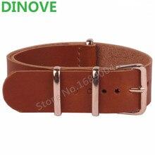 18 mm 20 mm 22 mm otan Brown PU cuir bracelets hommes femmes montres montre Band bretelles or Rose boucle 20 mm ceintures