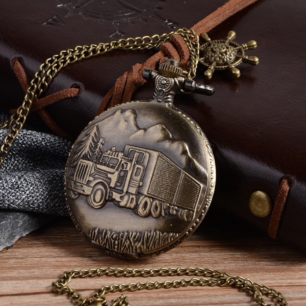 Cindiry Vintage ασημένια γοητευτικό χρυσό - Ρολόι τσέπης - Φωτογραφία 3