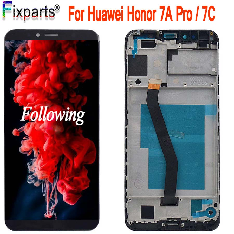 Originale 5.7 Display Huawei Honor 7C LCD AUM-L41 Display Touch Screen Digitizer Assembly ATU LX1/L21 Huawei 7A pro AUM-L29Originale 5.7 Display Huawei Honor 7C LCD AUM-L41 Display Touch Screen Digitizer Assembly ATU LX1/L21 Huawei 7A pro AUM-L29
