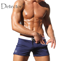 Detector New Swimwear Men Swimming Trunks Summer Sexy Men S Swimsuits Swim Trunks Boxer Briefs Maillot