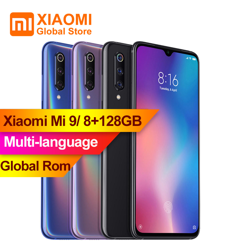 Xiaomi Mi9 Mi 9 8GB 128GB 6 39 inch Snapdragon 855 Octa core 48MP Triple Rear