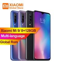 Xiaomi Mi9 Mi 9 8GB 128GB 6.39 inch Snapdragon 855 Octa Core 48MP Triple Rear Camera 20W Wireless Charge NFC 4G Smartphone