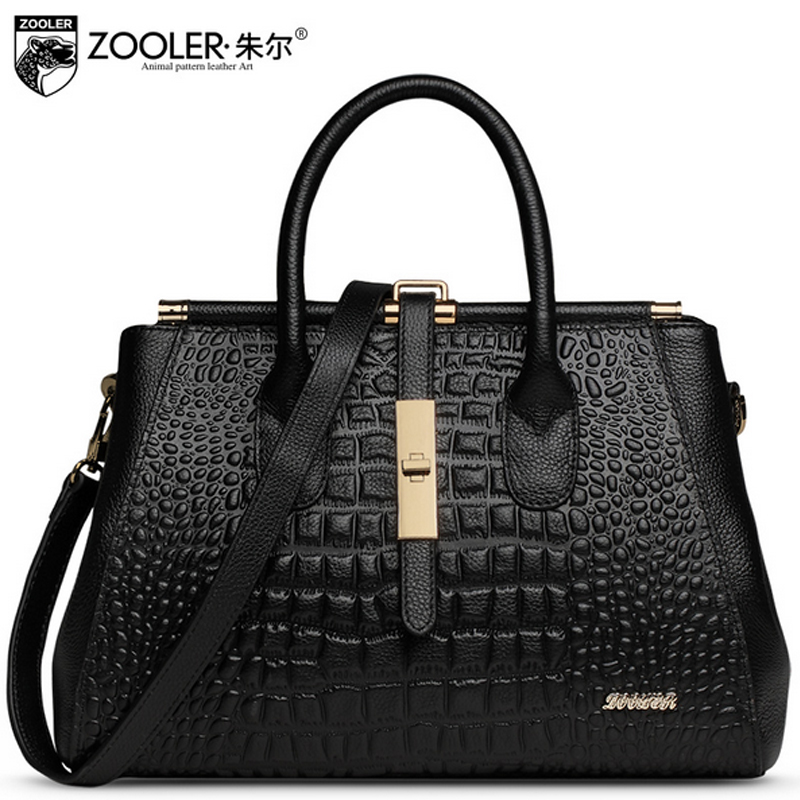ZOOLER Luxury Handbags Women Bags Designer Genuine Leather Shoulder Bags Famous Brands Crossbody Messenger Bag ladies Sac A Main butterfly fish genuine leather alligator totes shoulder bags handbags women famous brands party crossbody messenger bag clutch