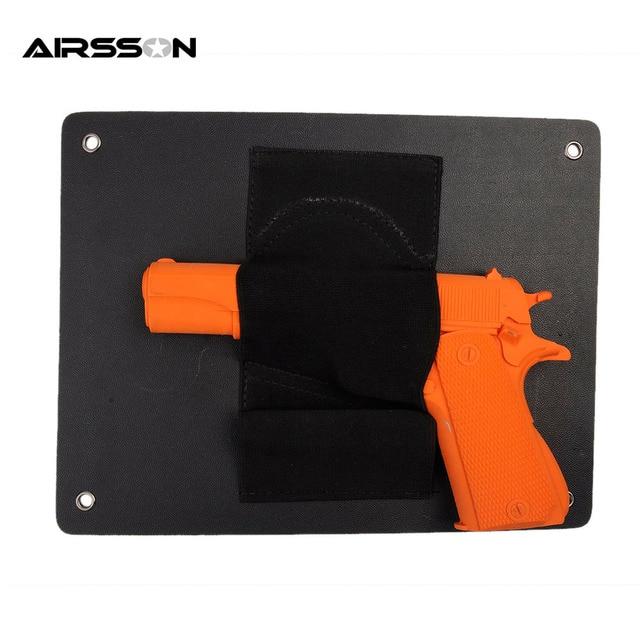 vehicle car pistol holster mount seat concealed door closet quick