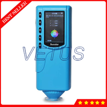 Cheaper SC-10 RS-232 Interface 4mm Measuring diameter Digital Color Difference Meter Tester Portable Colorimeter Analyzer