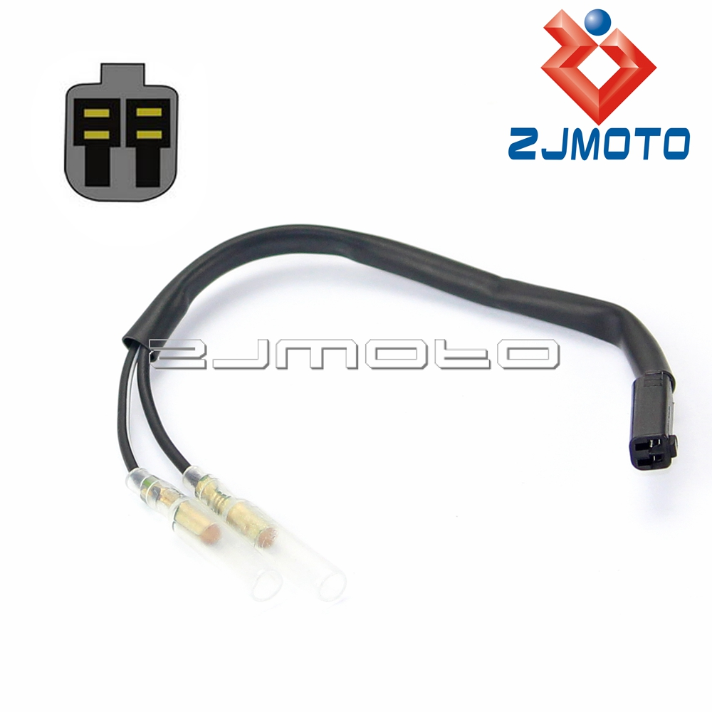 4 x Motorcycle OEM Turn Signal Wiring Adapter Plug Harness ...