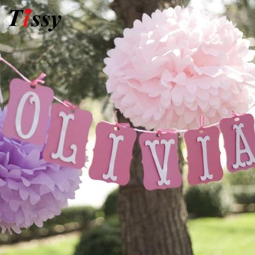 3 UNIDS 8 pulgadas (20 cm) flores de papel de bricolaje besos bola - Para fiestas y celebraciones
