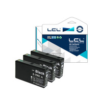 LCL 79 79XL T7901 79 XL (3-Pack Black ) Ink Cartridge Compatible for Epson WorkForce Pro WF-4630DWF/4640DTWF/5110/5190DW/5620DWF
