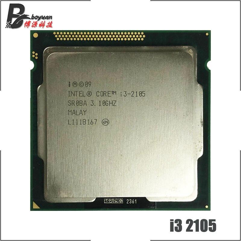 Intel Core i3 2105 i3 2105 3 1 GHz Dual Core CPU Processor 3M 65W LGA