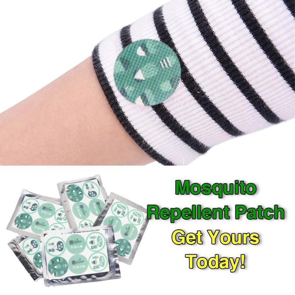 Mosquito Repellent Patch Anti Mosquito Sticker Set Baby Pregnant Adult Anti Mosquito Pest Control For Camping Yard #2F(China)