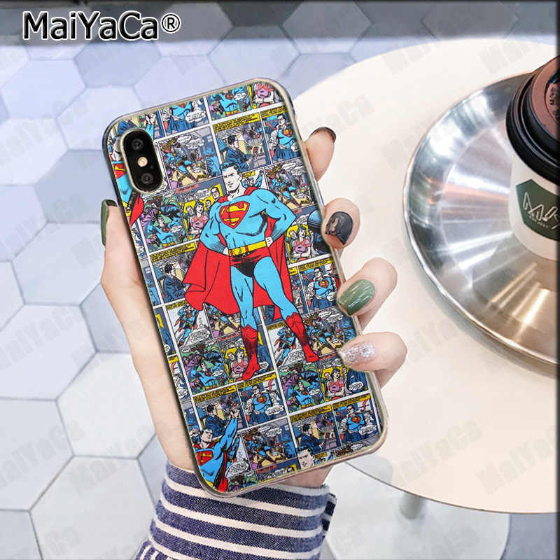 MaiYaCa Deadpool iron Man Marvel Avengers KingKong Star Wars phone case  for iPhone 8 7 6 6S Plus X XS max 10 5 5S SE XR