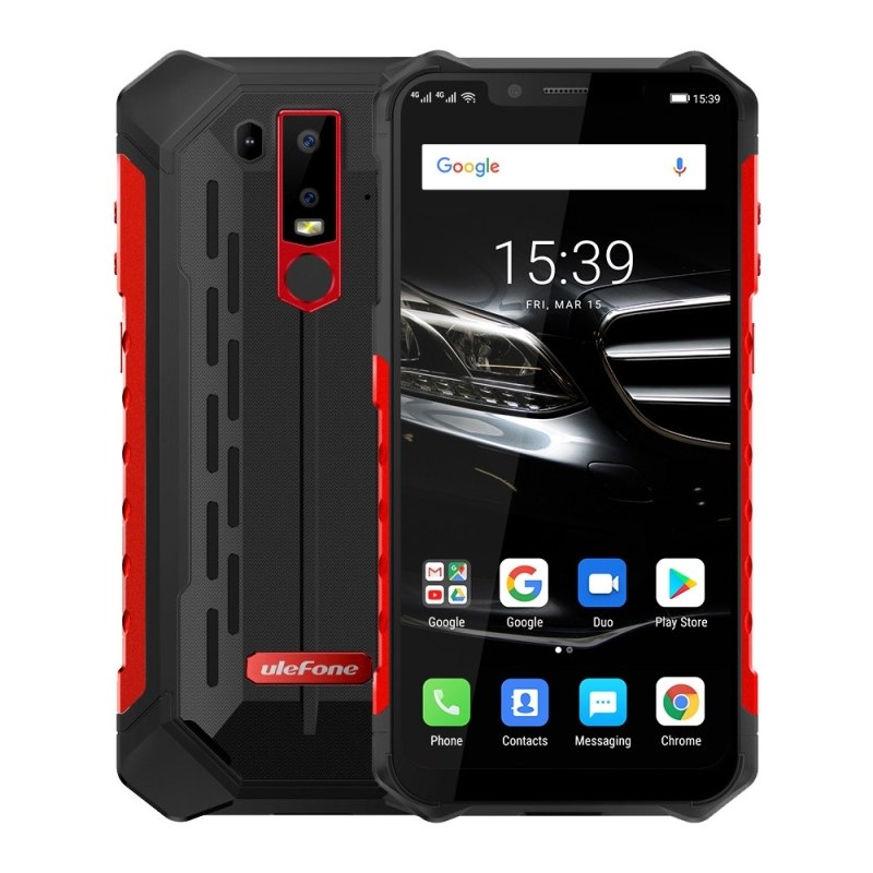 Ulefone Armor 6E Rugged Mobile Phones 5000mAh 6 2 Dual 4G VoLTE 4GB 64GB Waterproof Android