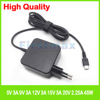 45W USB C type C laptop AC power adapter charger for HP Chromebook 11 G6 EE 14 G5 Spectre 12t c000 10t p000 CTO x2 Detachable PC