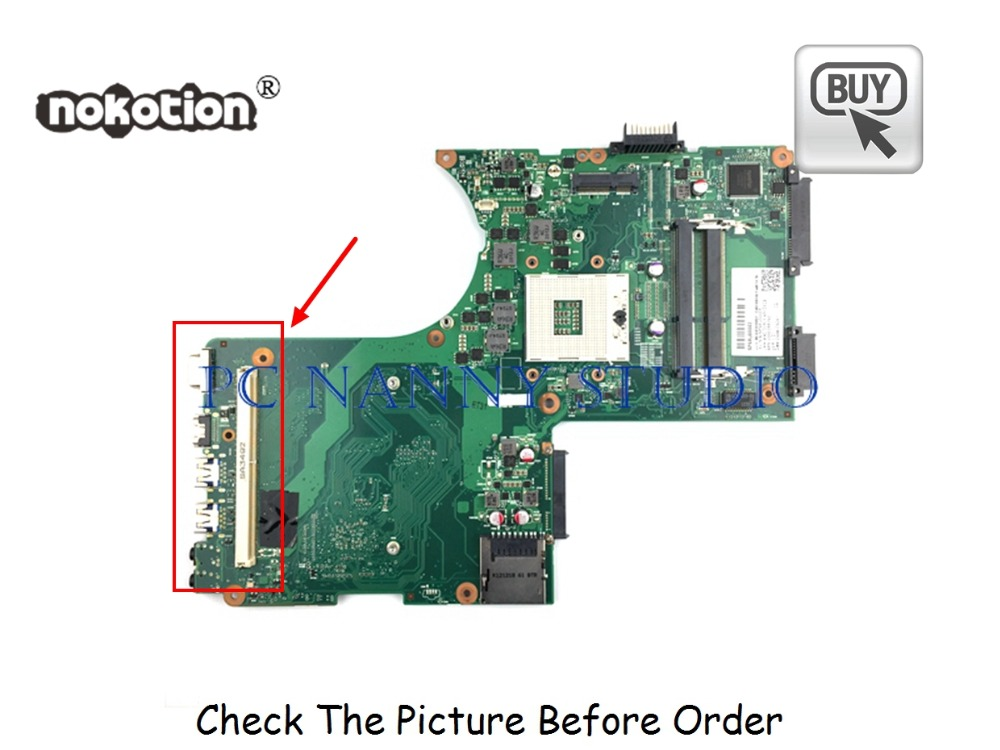 PANANNY V000288290 For Toshiba Qosmio X870 X875 Laptop Motherboard HM76 DDR3  6050A2493501 Tested