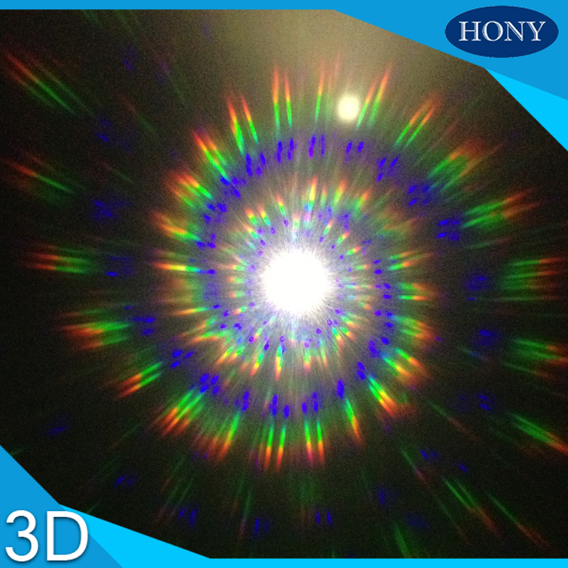 Bright 1pcs A4 3d Spirals/13500 Lines Fireworks Gratings Film Sheets,0.25mm Clear Diffraction Rainbow Films Spiral/13500 Lines Lens Reputation First