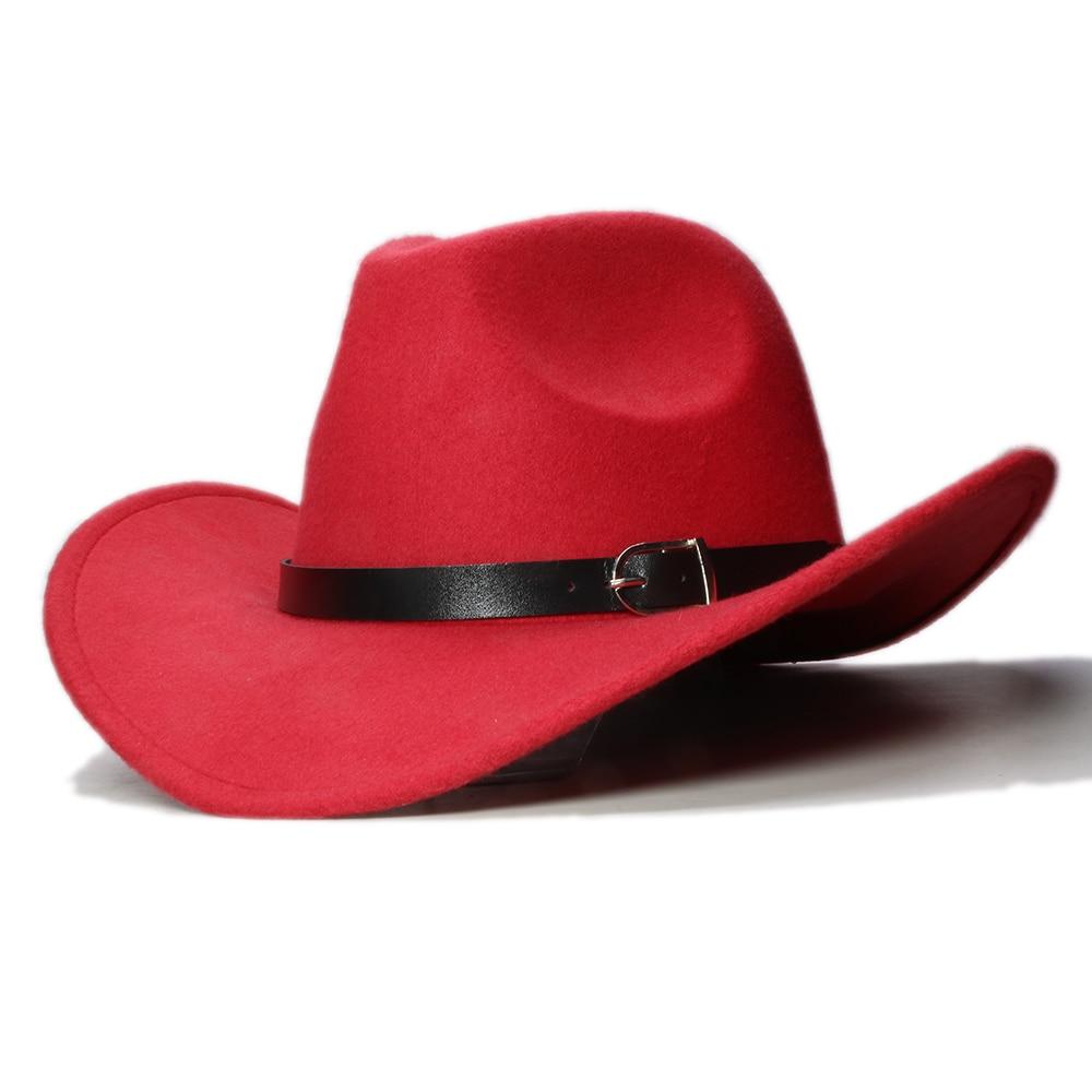 Vintage Mens Womans Retro Western Cowboy Faux Suede Wide Brim Hat Cap Gift