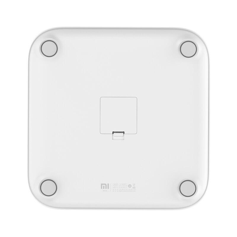 2019 nouveau Xiaomi Smart corps graisse échelle 2 Balance Test corps Date imc santé poids Balance LED affichage Fitness graisse échelle-in Télécommande connectée from Electronique    2