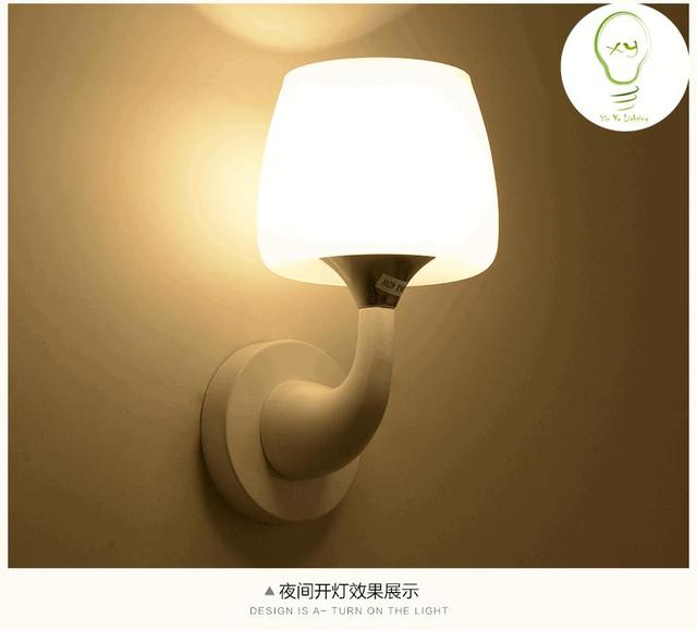 Us 18 5 Aliexpress Lighting Franchise Children Baby Bedroom Bedside Lamp Modern Led Wall Lamps Dolphin Ac220v