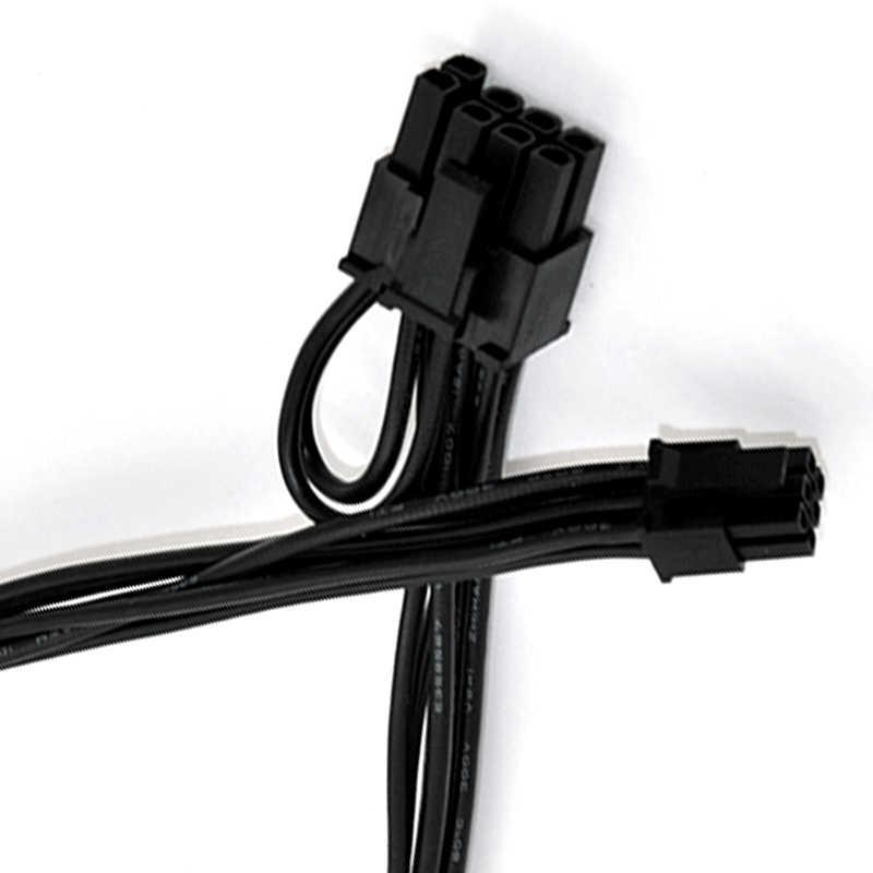 Untuk Apple Mac iMac Pro G5 Tower Kartu Video Kabel Mini 6pin untuk 8pin Pcie PCI-E Kabel
