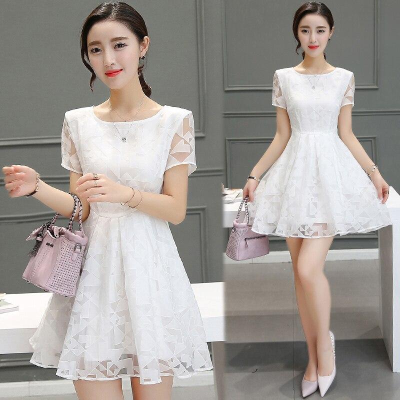 ea6e7d65626 Плюс большие размеры женская одежда платье 2016 летний стиль корейский  Vestidos богемное пляжное вечернее платье белое платье Женский a0617 купить  на ...