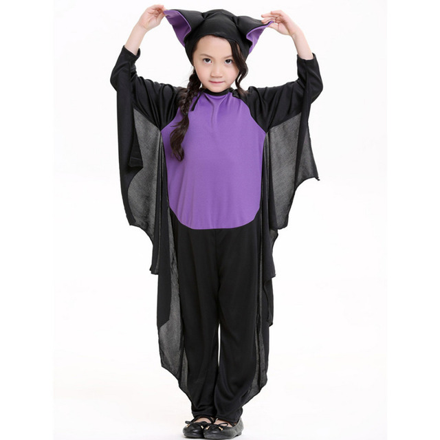 Cool Kids Bat Costume Evil Bat Costume Black Magic Halloween Costume for Child Childrenu0027s Day Animal  sc 1 st  AliExpress.com & Cool Kids Bat Costume Evil Bat Costume Black Magic Halloween Costume ...