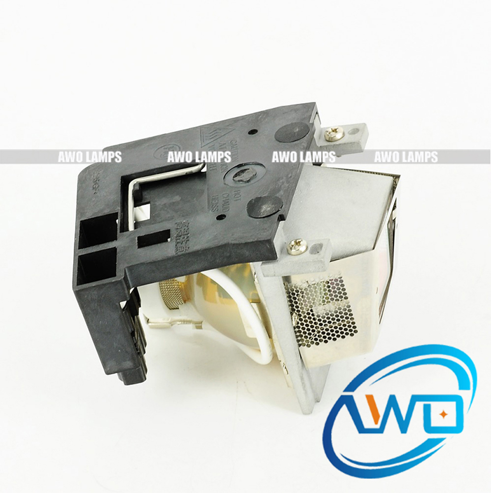 AWO 100% Original Projector Lamp RLC-018/RLC018 with Module for VIEWSONIC PJ506D/PJ556D 100% original projector lamp rlc 002 for viewsonic pj755d pj755d 2