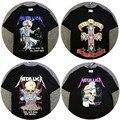 Metallica Camisa Dos Homens T 1:1 De Alta Qualidade Justin Bieber Mens Camisas Dorris Esqueleto Banda de Rock Metallica Tee T-Shirt de Metal Metallica