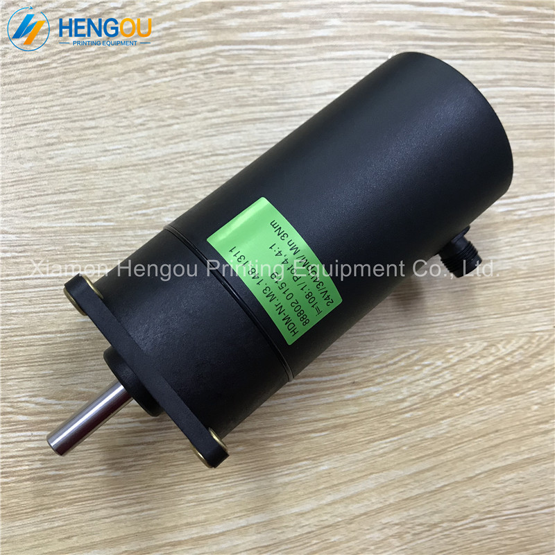 2 Pieces Heidelberg Printing Parts DC 24V Motor for SM102 CD102 Machine 3Nm M3.148.1311 Motor 2 pieces heidelberg cd102 sm102 water roller gear shaft s9 030 210f with 44 theeths heidelberg printing parts